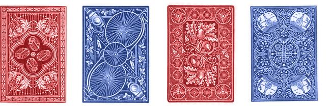 Рубашки карт Bicycle