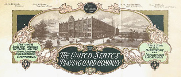 Фабрика по производству карт в Цинциннати