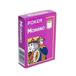 Карты MODIANO Poker фиолетовые