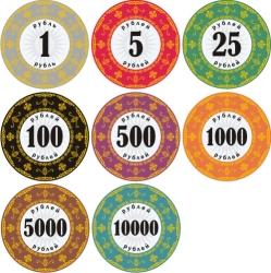 Покерные фишки своими руками